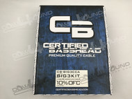 CERTIFIED BASSHEAD 1/0 CCA BIG 3 UPGRADE KIT