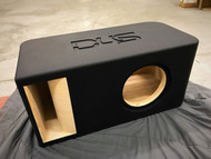 "Single 10"" Custom Kerf Ported Subwoofer Box"