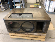 "Dual 12"" Custom Kerf Ported Subwoofer Box"
