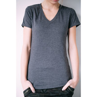 Kaiback Soft-Tees Women's - Charcoal Dust