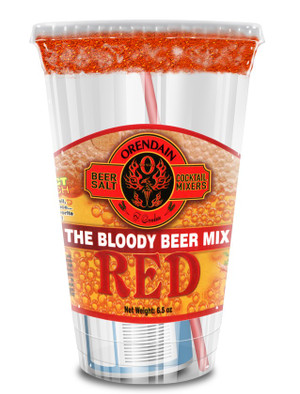 "RED  ""The Bloody Beer Mix"" Case of 24"