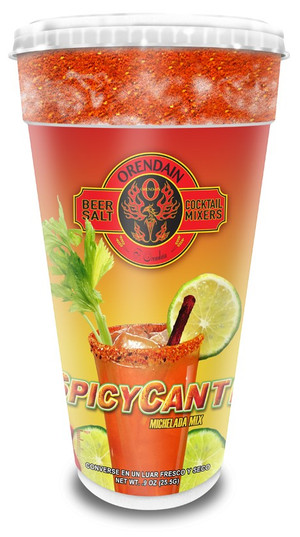SPICYCANTE- Spicy-Picante version (foam cup) with Tamarind Picante Stick