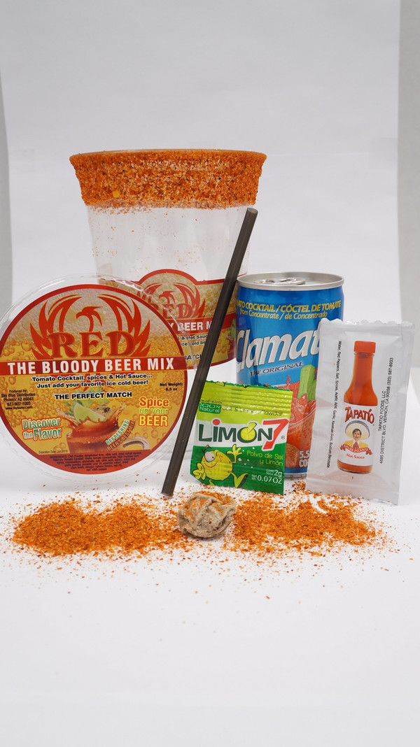 "RED  ""THE BLOODY BEER MIX"""