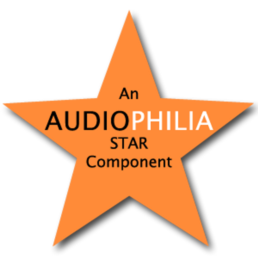 Awarded Audiophilia's Star Component