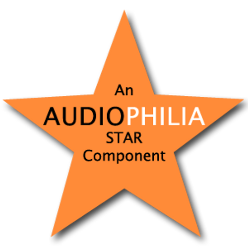 Awarded Audiophilia Star Component