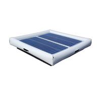 Savior Surface Pond Skimmer Floating Solar Pond Cleaner 60watts Solar Powered