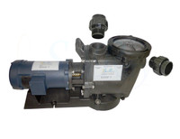 SunRay SolFlo1 - 3/4 HP DC - 3 Solar Panels 750w Filter Pool Pump Systems 43GPM 28FT Head 90VDC Brush Type Motor Complete