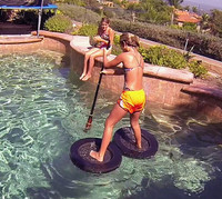 Ninja Water Shoes  95 lbs. Under - Glide On Top Of The Water