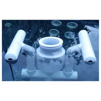 Savior Surface Pool Skimmer Attachment Pool Kit for Savior 10000 Gallon System