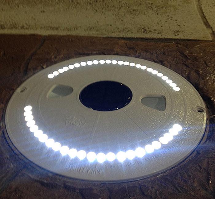 "Savior Skimmer Lid Solar Skimmer Lid Light Round 10"""
