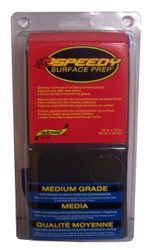 """Speedy removal of surface contaminants.  Easy to use with less effort. Leaves surface smooth as glass. 12"""" Medium Grade Towel"""