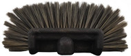 Hi-Tech Synthetic Hog Hair Brush is the perfect alternative to the elusive, expensive hog hair brush while still maintaining the perfect soft, long lasting brush at a fraction of the cost. Perfect for use in washing due to the nearly 180 degrees bristle coverage. Fits threaded handles, poles, extensions, etc.
