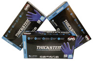 This package deal includes 3 boxes of extremely durable and super thick blue Thickster gloves with shipping included in the cost!