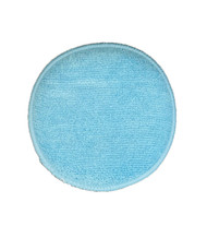 """This is a 5"""" round wax applicator with both sides covered in microfiber for a supersoft non scratch process."""
