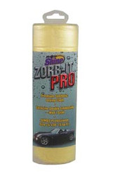 ZORB-ITPro Premium Drying Cloth. Works Better & Faster than ANY Other Already a Proven Winner Exclusive Double Embossing Won't Grab Jumbo Professional Size 24 in. x 30 in. a full 5 sq. ft. Wash thoroughly and you're ready! ZORB-IT PRO.. the New Choice of the Pros