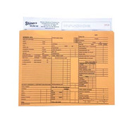 """Use these handy 9"""" x 12"""" manila envelope Deal Jackets for storing all of your vehicle's important papers. Protect your vehicle's records from becoming lost, torn or wrinkled. Sold in packs of 100. Prepinted for  detailed information requirements."""