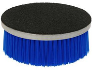 "SM Arnold Carpet & Upholstery Brush for Orbital/DA Polishers. Loop Back Rotary Brush with Blue Polypropylene Bristles 5"" Velcro Back with 1-1/2"" bristles. Loop backing attaches to standard hook & loop polisher backing plates. Makes shampooing fast, easy and effective for carpets."