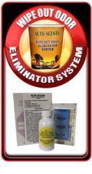 WIPE OUT ODOR ELIMINATOR works in automobiles, RV's, boats, schools, hospitals, hotels, apartments, restaurants, bathrooms, public transportation and any other public or private facility.