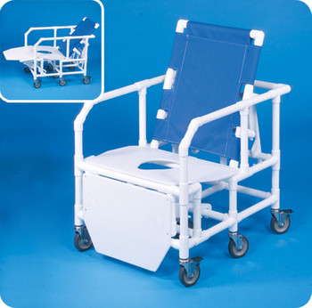 Bariatric Reclining Shower Chair With Commode