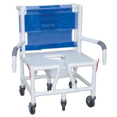 600 Pound Shower Commode Chair