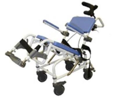 Petite or Pediatric Tilt Shower Commode Chair