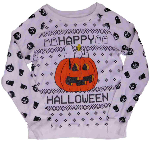 Happy Halloween Snoopy Sweatshirt Pumpkin Top D3d71ba2asa5ozcloudfront 33000706 Images 2peanuts062217