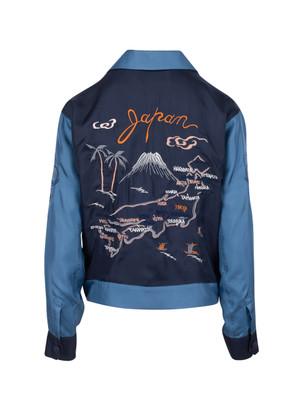 The Japan Tour Jacket - Navy
