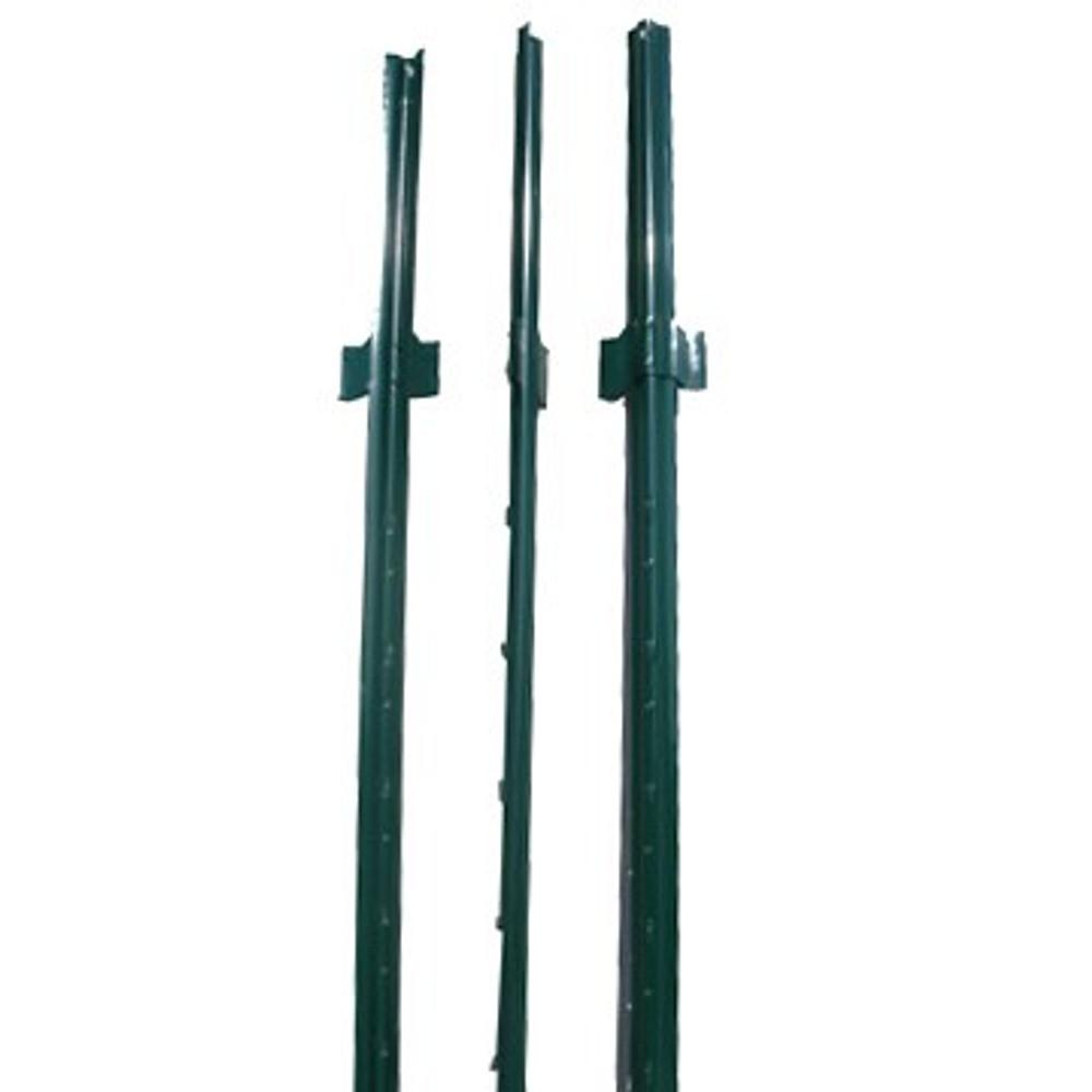 Fence U Post, 6', Green Light Duty