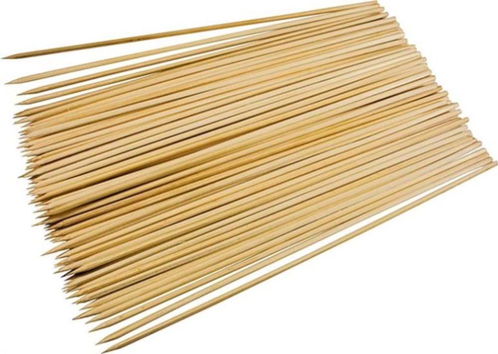 """Skewers, Bamboo, 12"""", 100 Pack"""