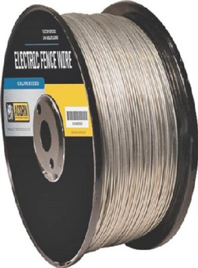 Electric Fence Wire, 17 Ga, 1/2 Mile