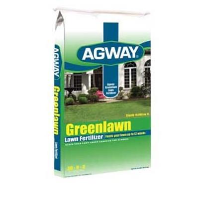 Agway Greenlawn Lawn Fertilizer, 30-0-30, 15 Lb, 5M