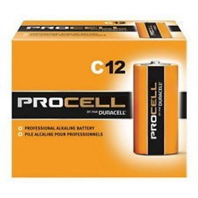 "Duracell, ""C"" 12 Pack Procell"