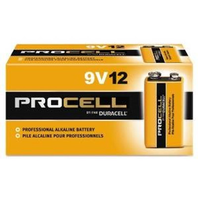 9 Volt Procell Bulk Battery, 12 Pack