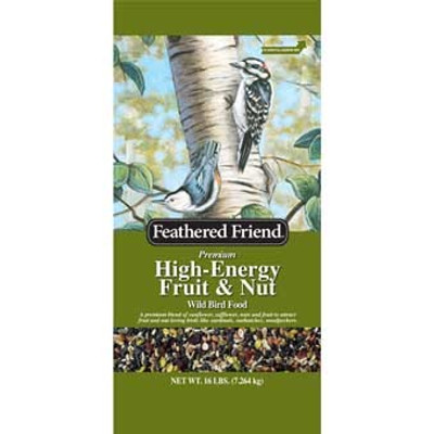 Feathered Friend, High Energy Fruit & Nut Feed 16 Lb