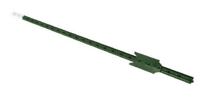 "Fence T Post 6'-6""  Green Heavy Duty"