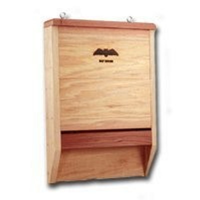 Heath BAT-1, 100% Cedar Bat House With Mounting Screw Eyes