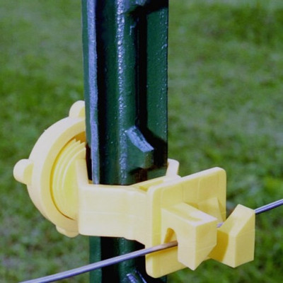 Electric Fence T-Post Wire Insulator 25 Pk