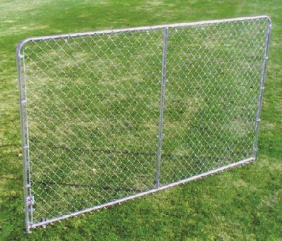 Kennel Panel, 10' Long x 6' High, Galvanized