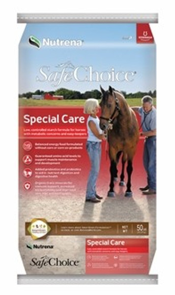 SafeChoice Special Care Horse Feed, 50 Lb