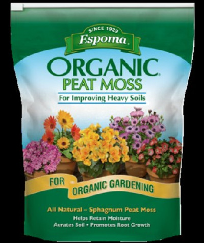 Espoma Organic Peat Moss, 8 Qt