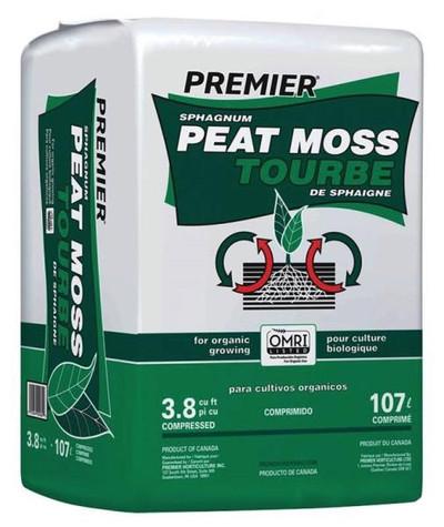 Peat Moss 3.8 Cu Ft - Organic