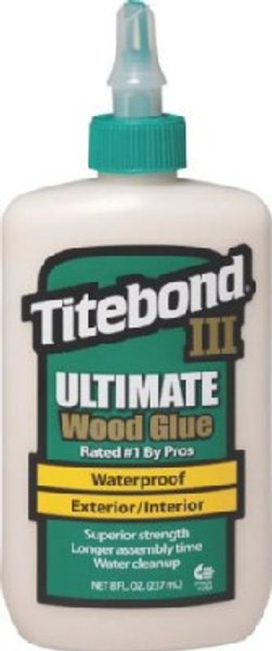 Titebond III Wood Glue   8 Oz