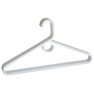 Plastic Tubular Clothes Hanger, 3 Pack