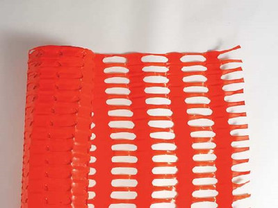 "Snow Fence 48"" x 50' Plastic Mesh Orange"