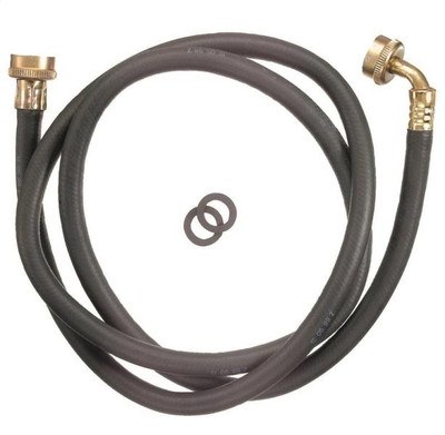 Plumb Pak Model PP850-6 Washing Machine Hose With 90 Deg Elbow, 6'