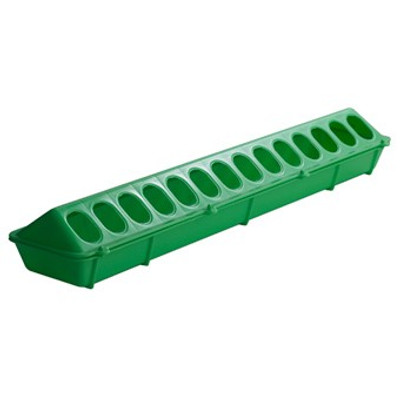 "Poultry Tray Feeder 20"" Green"