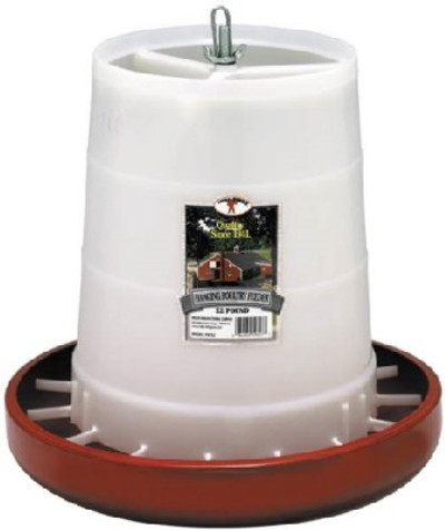 Poultry Feeder, 22 Lb Capacity