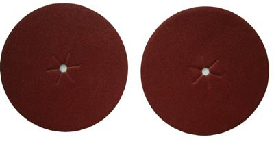 "Sanding Disc, 7"" With Center Hole, 80 Grit, 4 Pack"