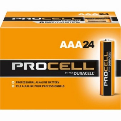 Alkaline Battery, 1.5 V, AAA, 24 Pack