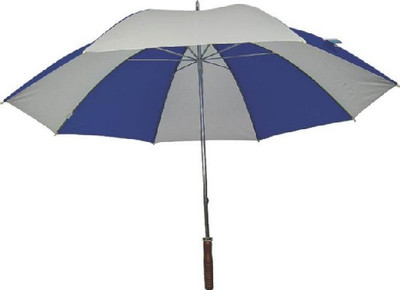 "Golf Umbrella, 29"" Dia, Nylon, Royal/White"